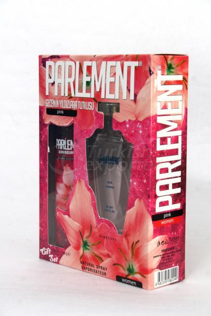 مزيل العرق والعطور للنساء-الوردي