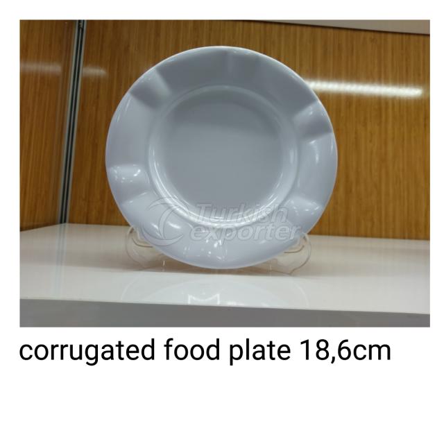 Corrugated Food Plate