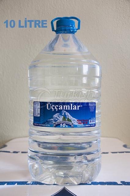 مياه ينابيع الطبيعية 10 لتر