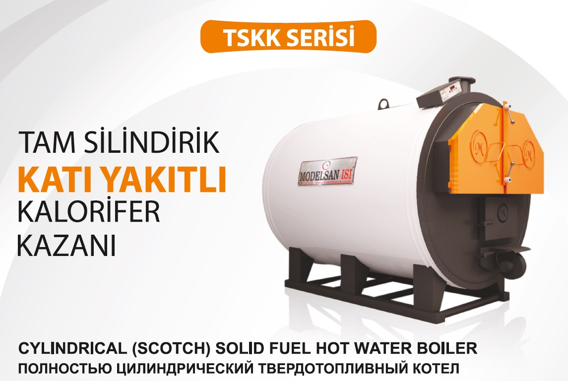 Solid Fuel Heating Scotch Boiler TSKK Series