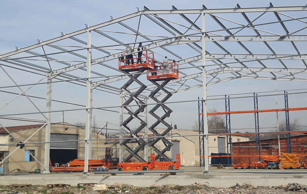 Steel Warehouse Construction