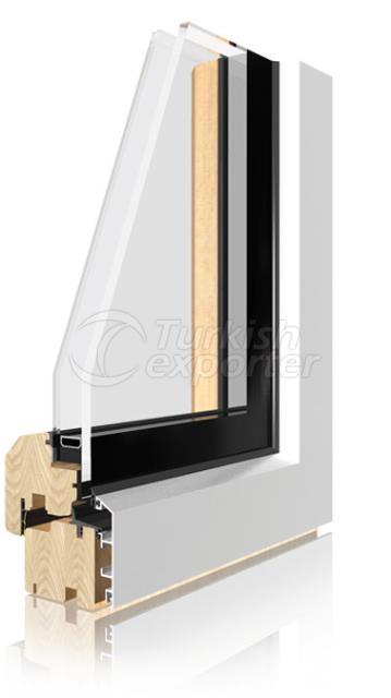 Ahşap Alüminyum Pencere ve Kapı Sistemleri -İntegral