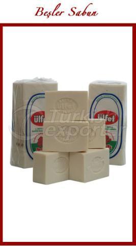 Белое мыло для ванны
