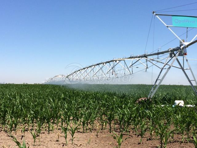 irrigation lateral move pivot