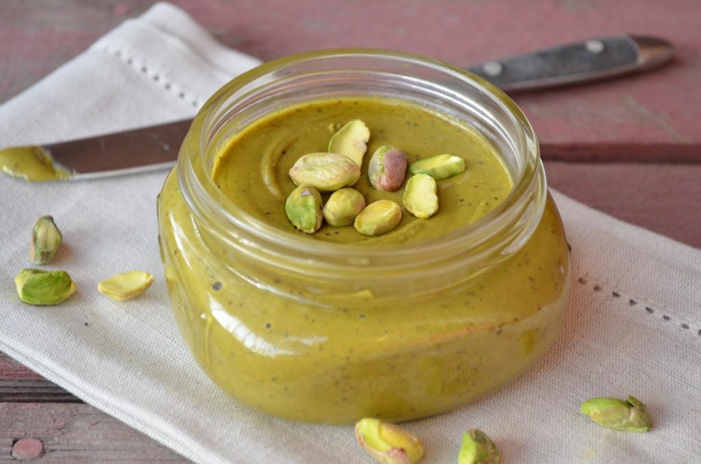 Mantequilla de pistacho