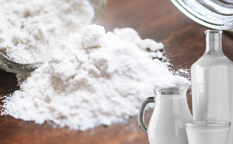 Powdered dairy products