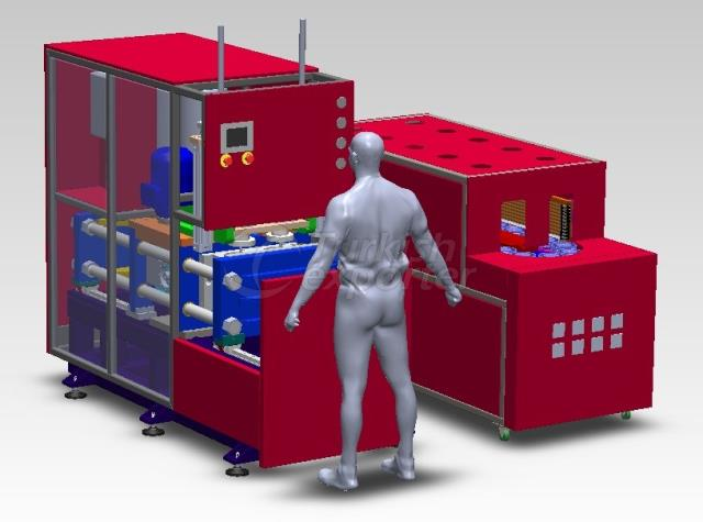 Yarı Otomatik PET Şişe Şişirme Makinaları ESHF2 HCV WN