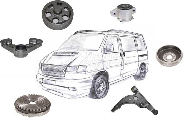 Ductile & Grey Iron Casting Parts