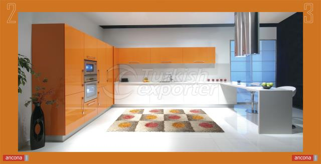 Ancona Kitchen Furniture - Alutema