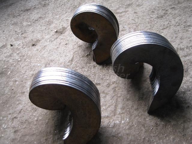 Çelik Ve Krom Helezon Yaprağı