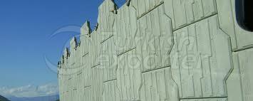 تأريض لوحات الحائط الإطارات تي