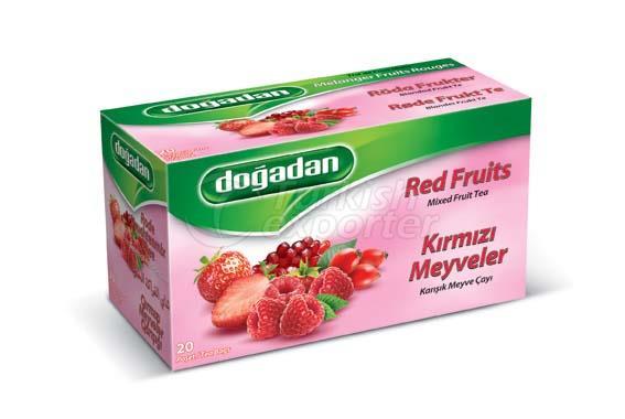 الفاكهة الحمراء