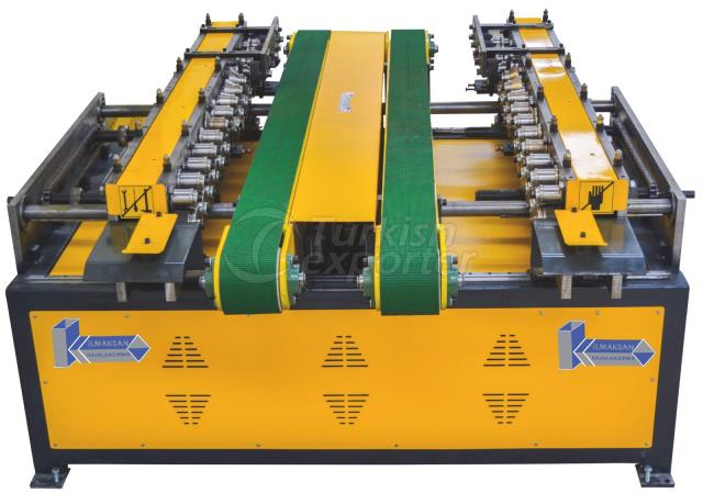Double Tdf Flange Forming Machine