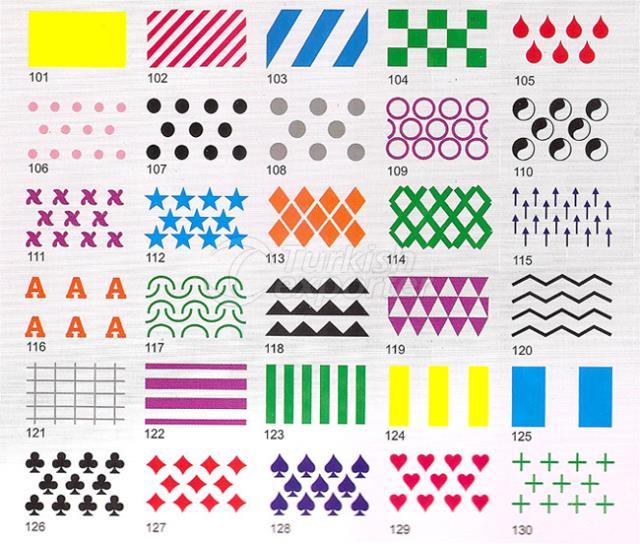 Patrones de conos de papel