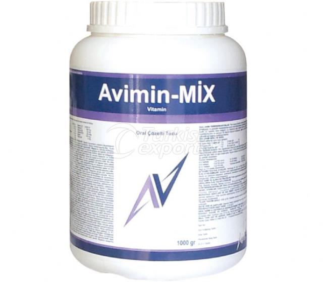 Avimin Mix Oral Çöz. Tozu