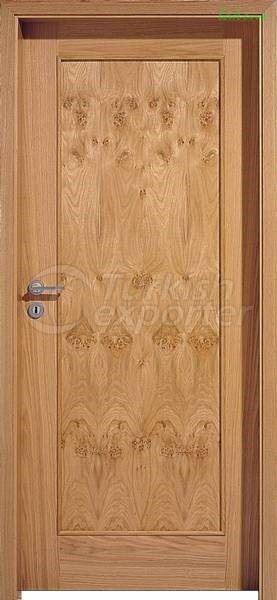 Puerta de madera chapada LK 115